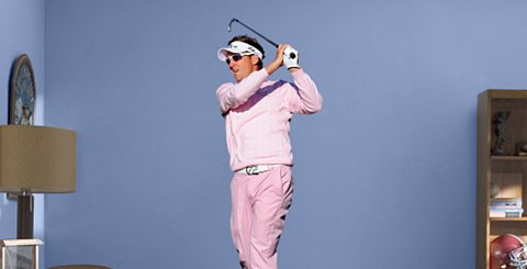 Just in time for Christmas, Ian Poulter wall art is available. Hurry, while supply lasts!