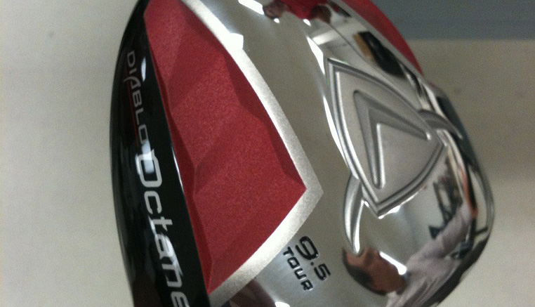 Graeme McDowell tweeted this picture of Callaway's new Octane driver, coming in November.