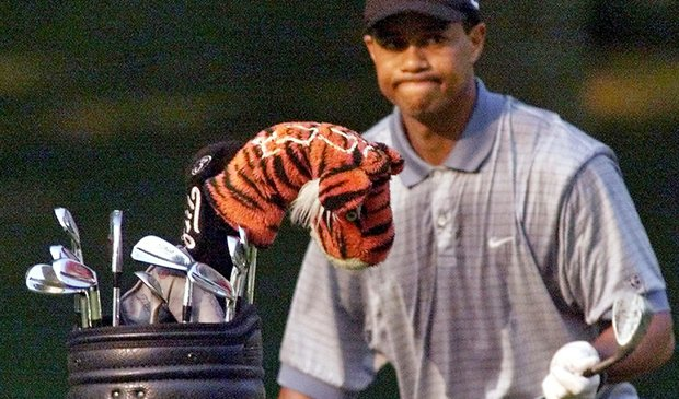Tiger Woods during the 2000 season.
