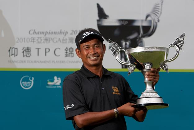 With Thaworn Wiratchant's win at the Yeangder Tournament Players Championship on Sept. 19, he ties the Asian Tour record for wins with 12.