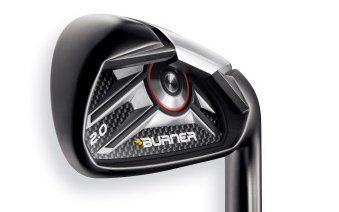 Products such as the Burner 2.0 will be featured at the new TaylorMade website.