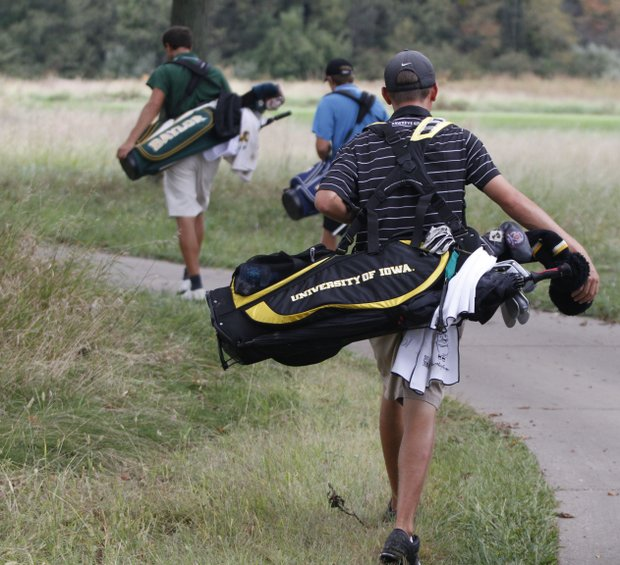 Iowa jumped to a 15-shot lead during Round 1 of the Golfweek Conference Challenge.