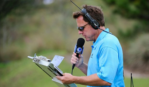 Jerry Foltz of The Golf Channel
