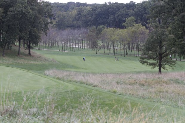 A view of Spirit Hollow Golf Course in Burlington, Iowa.