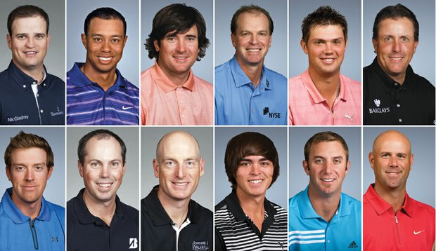 Team USA for the 2010 Ryder Cup