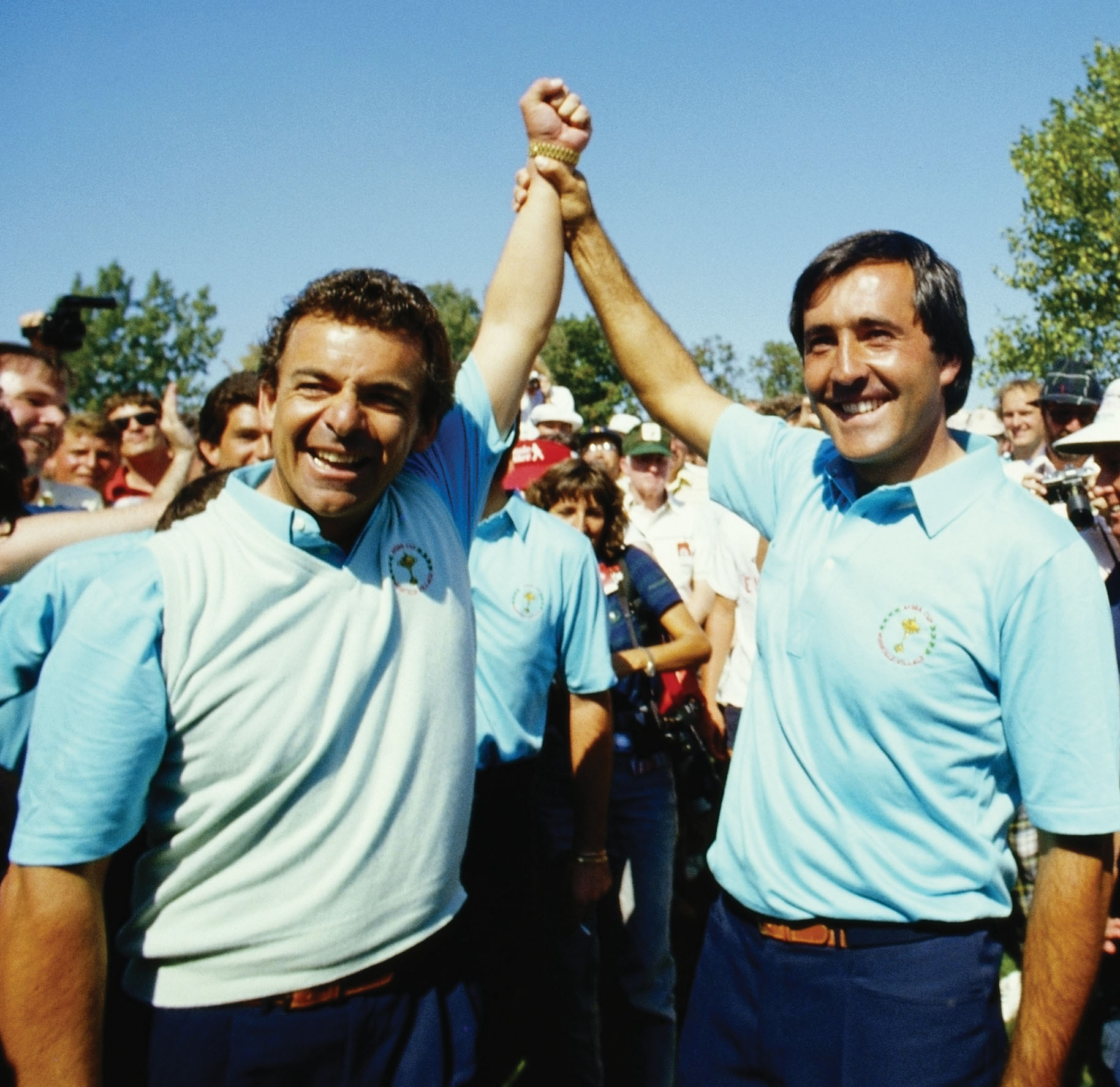 Tony Jacklin and Seve Ballesteros were two of the forces that helped turn the tide for Team Europe.