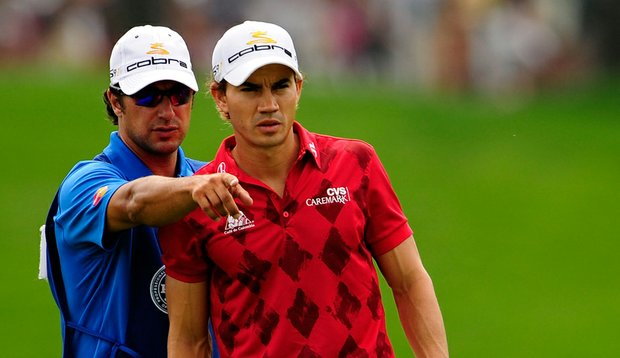 Brett Waldman and Camilo Villegas at the 2009 PGA Championship.