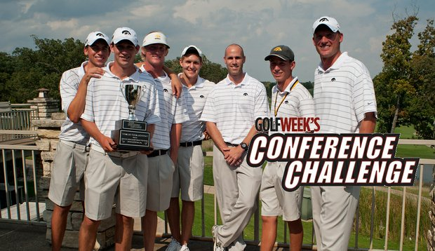 Iowa won the Golfweek Conference Challenge on Sept. 21.
