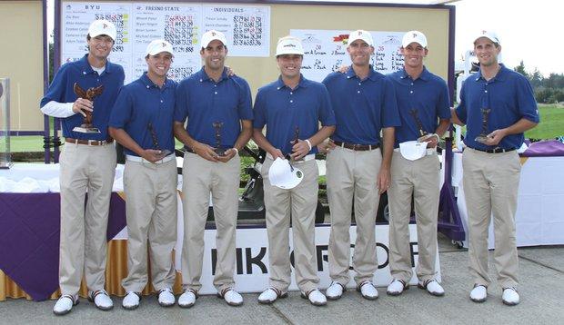 Pepperdine won the Kikkor Golf Husky Invitational on Sept. 21.