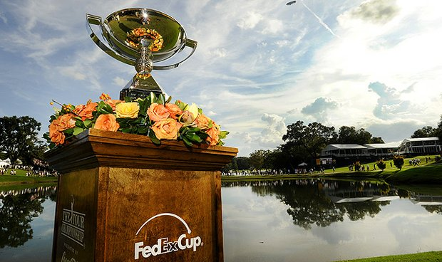 The FedEx Cup trophy