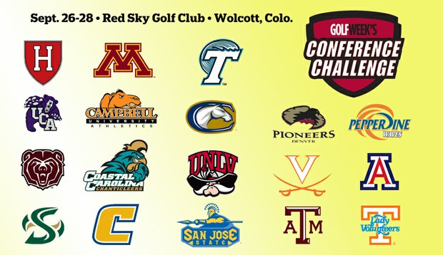 Eighteen different Division I conferences will be represented at the Golfweek Women's Conference Challenge in Wolcott, Colo.