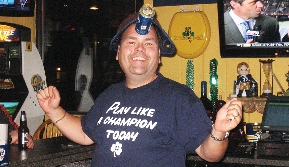 Pat Mulligan found 'heaven on earth' when he brought his unicorn trick to South Bend last year.