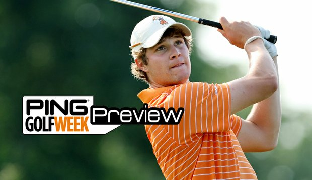 Peter Uihlein led Oklahoma State to victory at the Ping/Golfweek Preview on Sept. 28. (File photo)