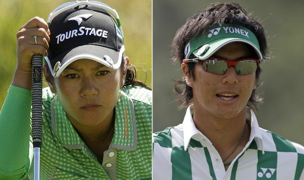 Ai Miyazato and Ryo Ishikawa are bona-fide superstars in their native Japan.