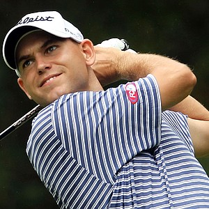 Bill Haas during the Deutsche Bank Championship.