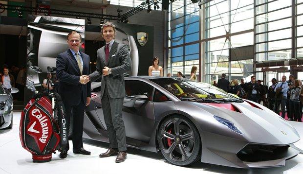 Lamborghini and Callaway announced a new partnership at the 2010 Paris Motor Show Sept. 30.