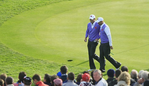 Stewart Cink and Matt Kuchar have been tough on the greens so far at Celtic Manor.