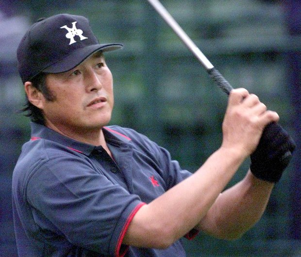 "Masashi ""Jumbo"" Ozaki of Japan at the 1999 U.S. Open."