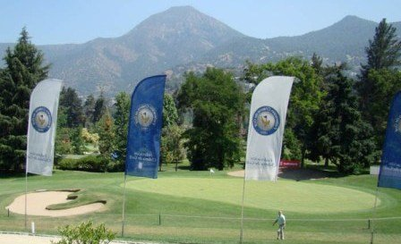 Sport Francés Golf Club in Santiago, Chile.