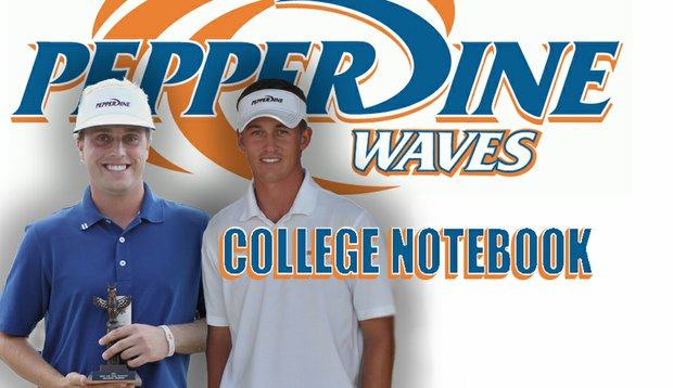 Josh Anderson, left, and Andrew Putnam have each picked up victories for Pepperdine this season.