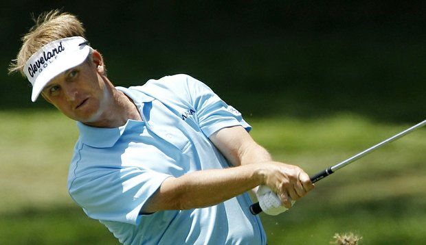 David Toms shot a second-round 66 at the McGladrey Classic. (file photo)
