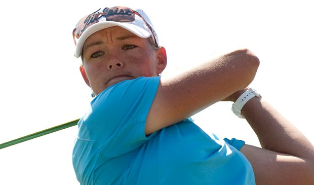 Katherine Hull during the final round of the LPGA Navistar Classic.