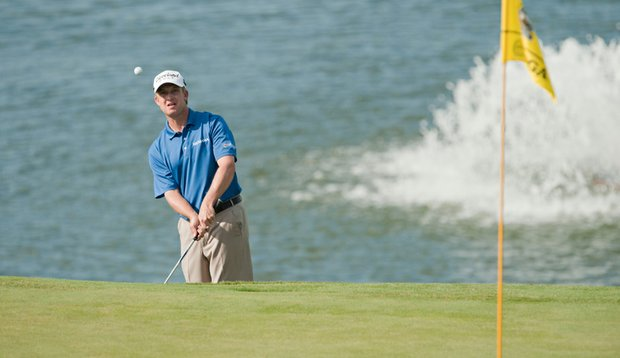 David Toms during Round 1 of the PGA Grand Slam of Golf.