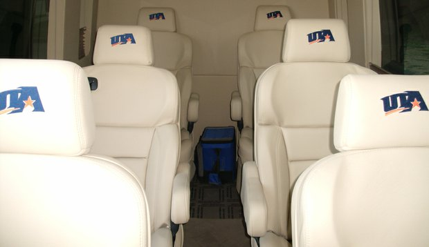 Inside the Texas-Arlington's 2010 Mercedes-Benz Sprinter Van