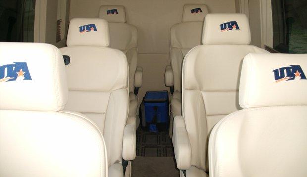 Inside the Texas-Arlington's 2010 Mercedes-Benz Sprinter Van