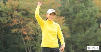 Sakura Yokomine's victory in the 2010 Masters GC Ladies included a hole-in-one.