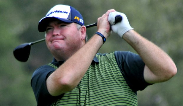 Kevin Marsh during the Stocker Cup.