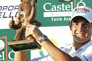 Matteo Manassero won the Castello Masters by four shots.