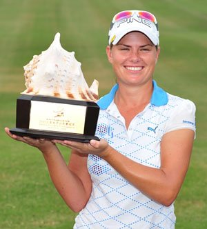 Lee-Anne Pace's victory at the 2010 Sanya Ladies Open was her fourth of the year on the Ladies European Tour.