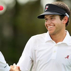 Cory Whitsett, a freshman at Alabama, shot 2-over 74 in Round 2 of the Isleworth Collegiate.