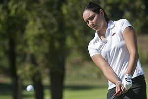 Emily Tubert tied the NCAA 18-hole scoring record at the Las Vegas Collegiate Showdown with her 9-under 63.