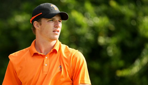 Morgan Hoffmann of Oklahoma State during the Isleworth Collegiate Invitational.