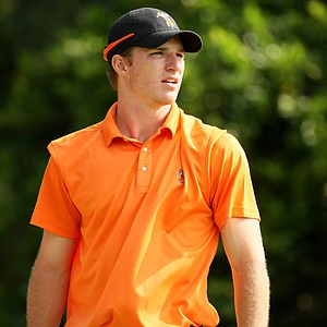 Oklahoma State's Morgan Hoffmann during the second round of the Isleworth Collegiate.