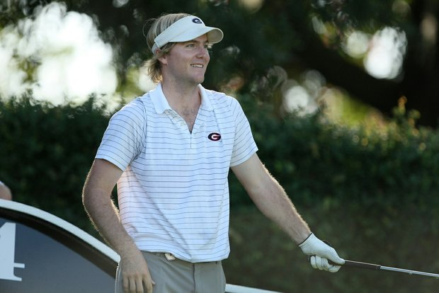 Georgia's Russell Henley during Round 2 of the Isleworth Collegiate.