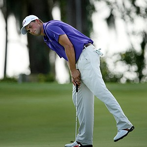 LSU's Austin Gutgsell during the final round of the Isleworth Collegiate.