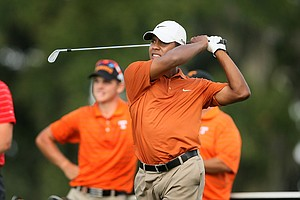 Julio Vegas, of Texas, at the Isleworth Collegiate.