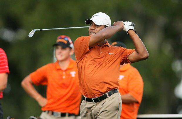 Julio Vegas, of Texas, at the Isleworth Collegiate.