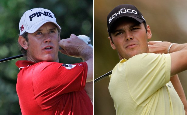 Lee Westwood and Martin Kaymer