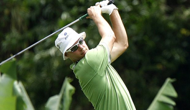 Ben Crane during the Asia Pacific Classic.