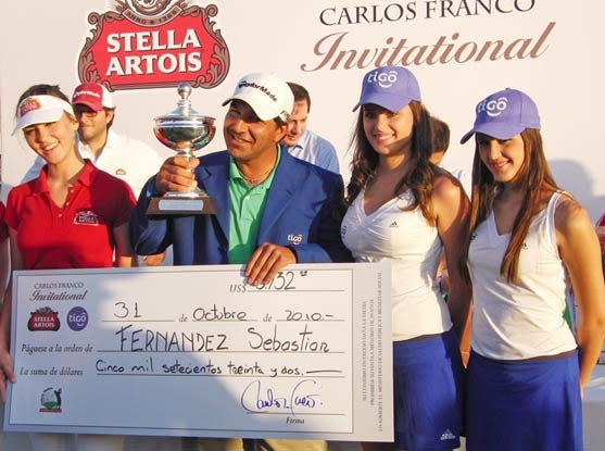 Sebastián Fernández won his second title of the 2010 TLA season at the Stella Artois - Tigo Carlos Franco Invitational.