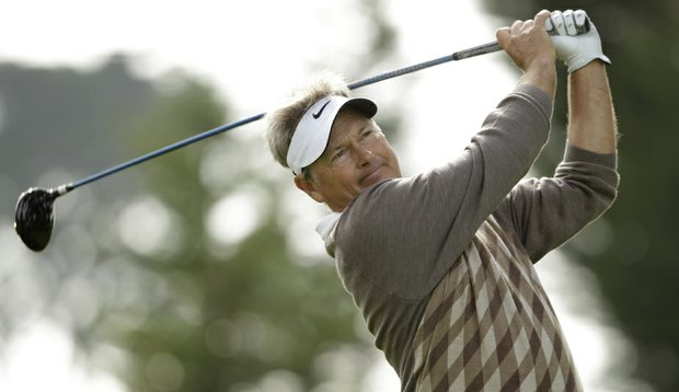 John Cook during Round 2 of the Charles Schwab Cup Championship.