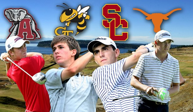 Justin Thomas, Oliver Schniederjans, Anthony Paolucci and Jordan Spieth are among the notable 2011 graduates who have given verbal commitments to play college golf.