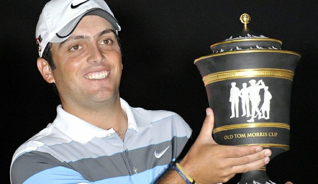 Francesco Molinari after winning the HSBC Champions in Shanghai.