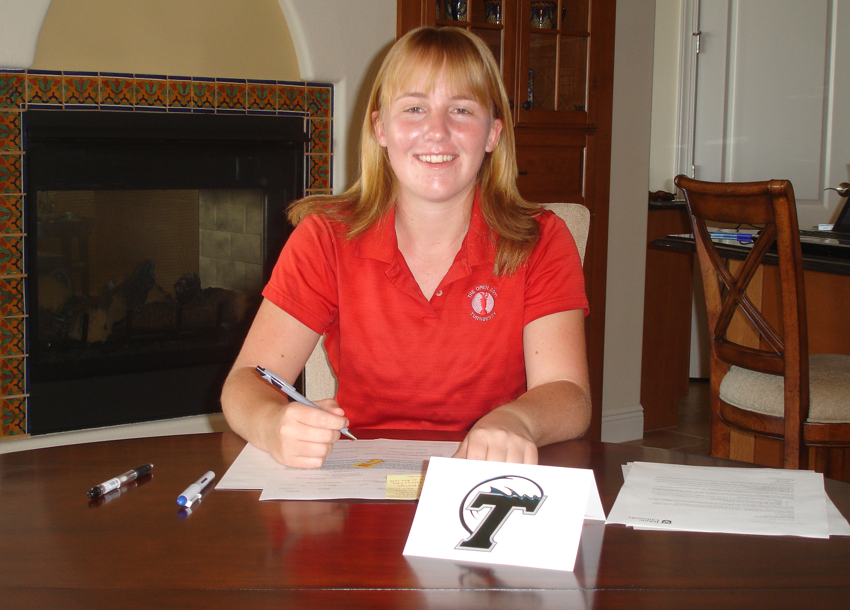 Gemma Dryburgh signed with Tulane.