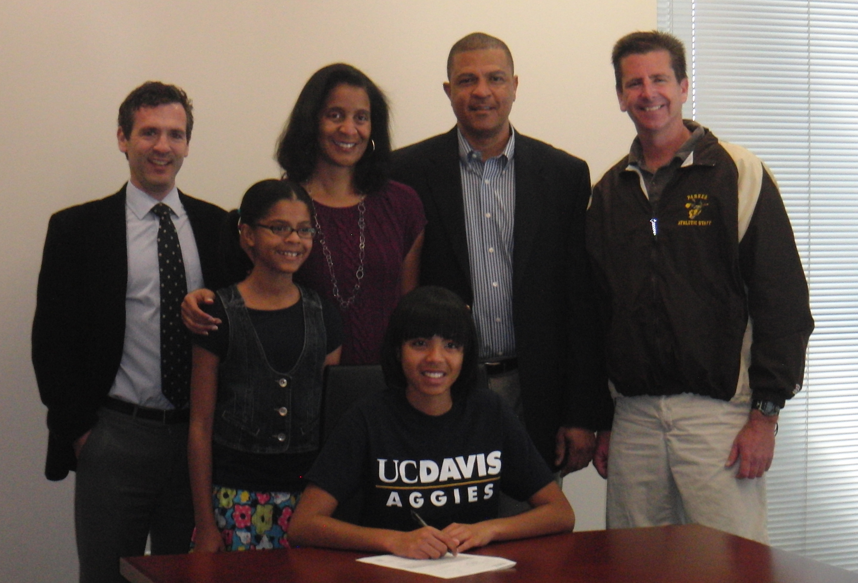Blair Lewis signed with UC Davis.