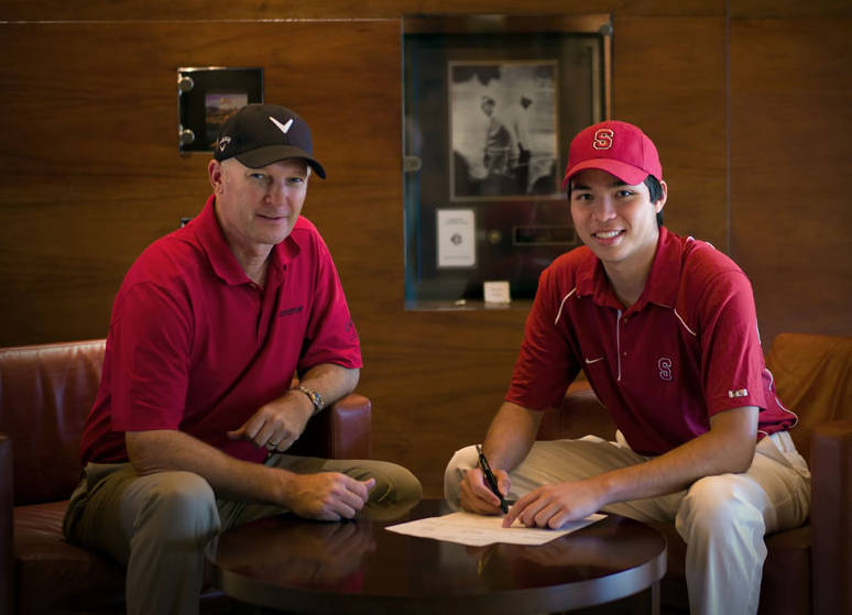 Marcel Puyat signs with Stanford University
